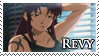 Black Lagoon Revy stamp