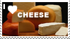 I love cheese stamp