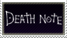 Death Note stamp