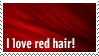 Red Hair stamp