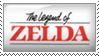 The Legend of Zelda stamp