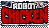 Robot Chicken stamp