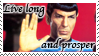 Star Trek Vulcan stamp