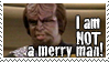Star Trek Worf stamp